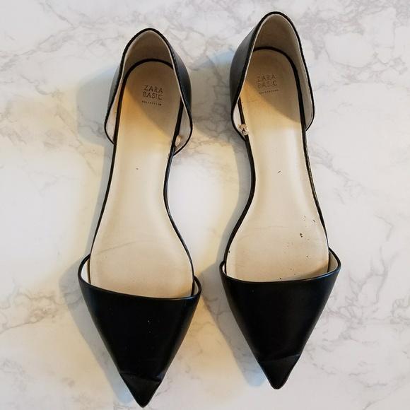 1ee3dd99c Zara Classic Black Pointed Toe Flats. M_5a9bfe42daa8f6682f3f6da8